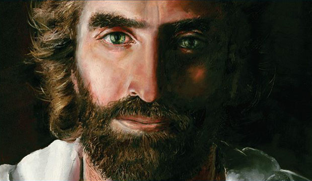 jesus-bild-wie ein Kind ihn sah