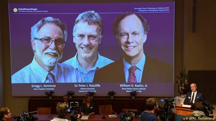 Sauerstoffwasser-Nobelpreisträger